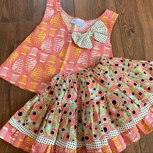 Carolina Kids boutique outfit size 3T GUC